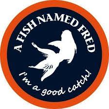 Afbeelding logo a fish named fred